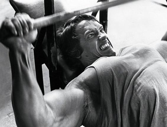 Arnold au développé couché incliné