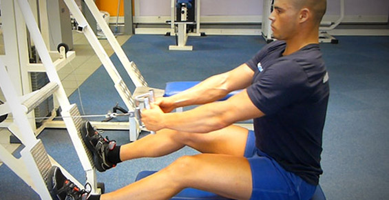 Tirage poulie basse musculation