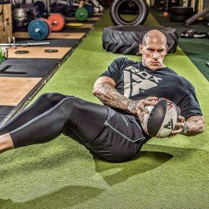 entrainement medecine ball