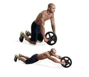 roue abdominale exercice